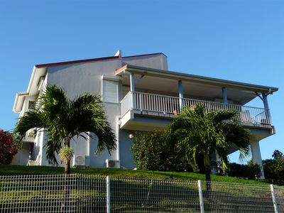 Photo for Beautiful villa in quiet residence ventilated, panoramic view, sea and dreary town