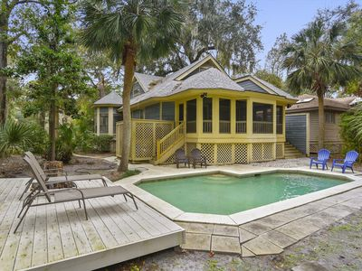 Photo for 3 bedroom, 3 bath private home, located in Shipyard Plantation less than a mile