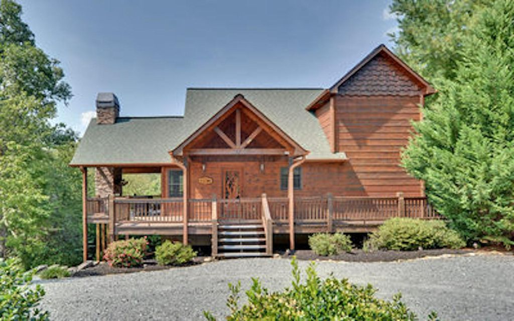Spectacular Mountain Cabin With Breathtaking Views Amp 6