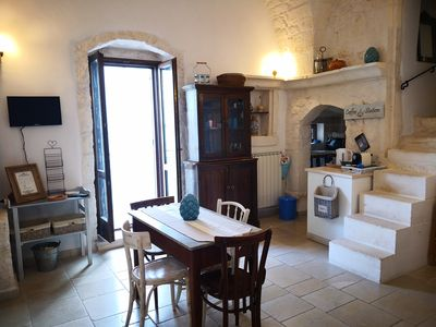 Photo for BorgoBiancOstuni, entire period house with sea view terrace and free wifi