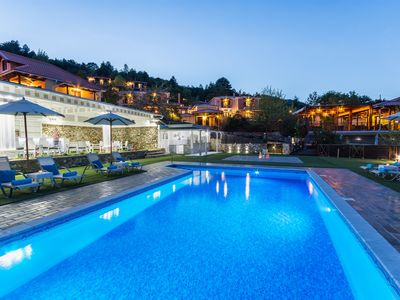 Photo for Charming Suite with Panoramic View in Taygetus Mountain