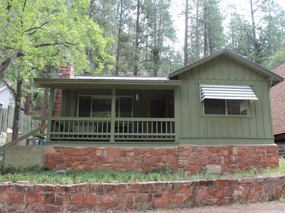 Photo for Cozy Oak Creek Cabin, Walk to West Fork!