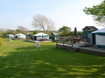 Photo for Yurt 1, East Thorne, Bude -  a yurt that sleeps 6 guests  in 1 bedroom