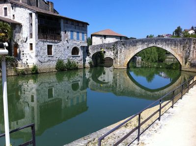 River Baise - Nerac, Lot et Garonne. The most Delicious region of France