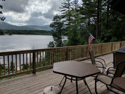 Photo for Secluded 4 bedroom house on upper kimball pond between Fryeburg and North Conway