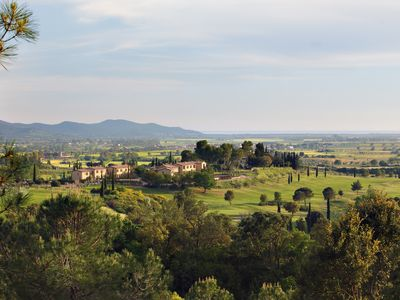 Photo for La Ginestra in the heart of a golf course close to spectacular beaches