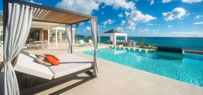Villa Turtle Nest  -  Beach Front - Located in  Stunning Baie Longue with Private Pool