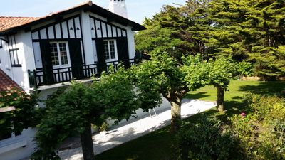 Photo for Large renovated Basque villa 100m walk from the beach of Parlementia
