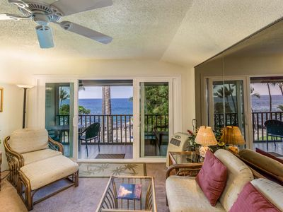 Photo for Condo w/ oceanfront views and beach access - WiFi included!