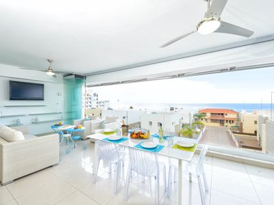 Silver Sands Penthouse - Two bedroom penthouse with panoramic sea view