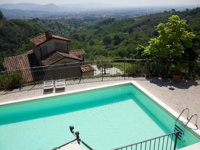 Photo for renovated villa with pool in panoramic position