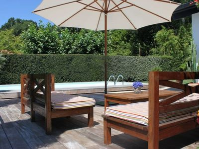 Photo for Biarritz Villa with pool in secluded in a conservation area