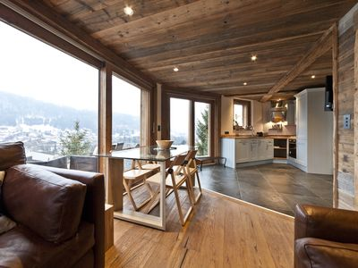Photo for Luxurious three bedroom apartment in central Morzine