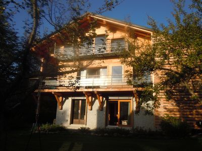 Photo for chalet in Saint-Gervais Mont Blanc. In the heart of the village 75m ² any comfort
