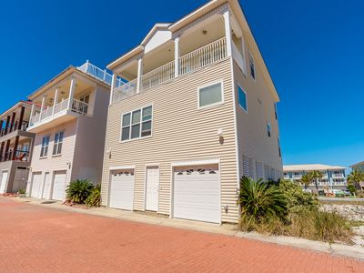 Photo for Home in Pensacola Beach  ~ Just steps to the beach!
