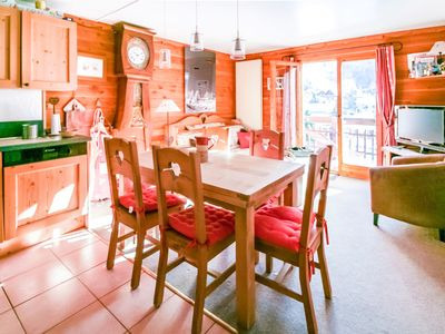 Photo for PROMO -30% VALLOIRE CENTER 4 * LARGE COMFORT - 71m2 - 6 p. - south balcony / wifi