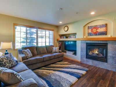 Photo for Contemporary mountain retreat with skiing, hiking, and outdoor fun nearby