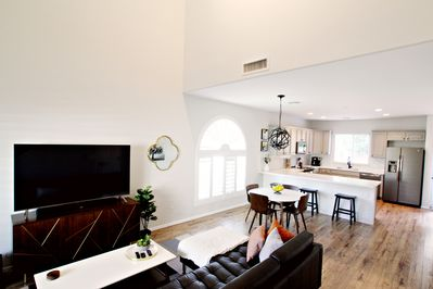 Living Room is designed for comfort and relaxation