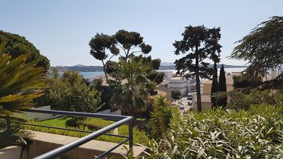 Photo for Superb 4 bedroom apartment with air conditioning - Terrace 30 m² - Nice Sea View