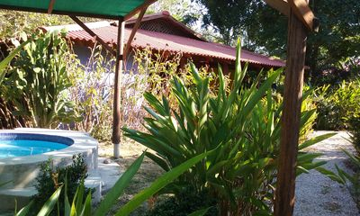 Photo for Lovely 3 bed, 3 bath house in Cabuya/Montezuma with A/C and jacuzzi pool