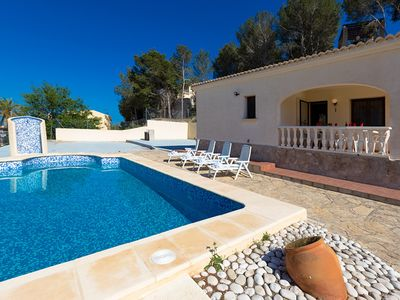 Photo for ANDRE, villa with private pool in Calpe for 8 guests, free wifi