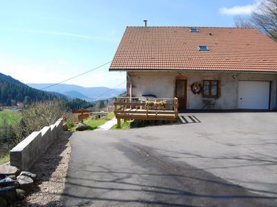 Photo for Poet des Hauts Apartment in small hamlet Gérardmer 4 pers 60m ²