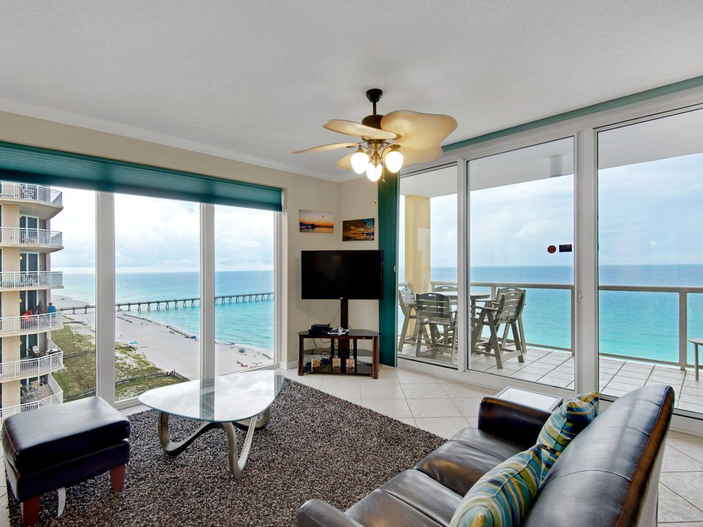 Beautiful 3br 3ba 15th floor caribbean resort condo floor for 15th floor on 100 floors