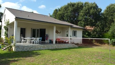 Photo for Modern air-conditioned house for 6 people, PIETRACORBARA, 500 m from the beach.