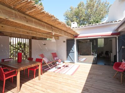 Photo for Mini-villa 300m from the beach in St Cyprien