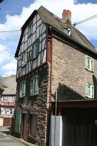 Photo for Comfortable 400 year old frame house in the center of Braubach. Renovated 2010