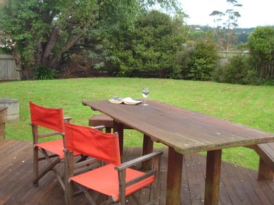 Photo for Great fully fenced Lockwood house 200m. from Beach