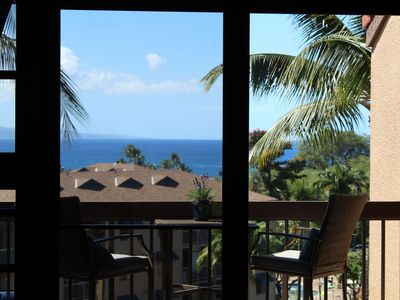 Photo for Absolutely gorgeous view!!  Brand new central A/C!!  Maui Vista 3404!!