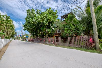"""MASAPAN GUEST HOUSE - Hidden behind the lush green trees, our super cozy property Masapan Guest House is located on the north side of the island close to """"The Truck Stop."""""""