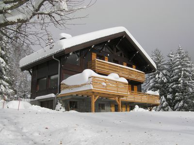 Photo for Argentiere: Argentiere/Chamonix- Near slopes- Hot tub - Stunning views