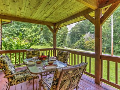Photo for Brookside Deluxe Cabin in Red River Gorge - Jacuzzi Hot Tub Surround Sound WiFi