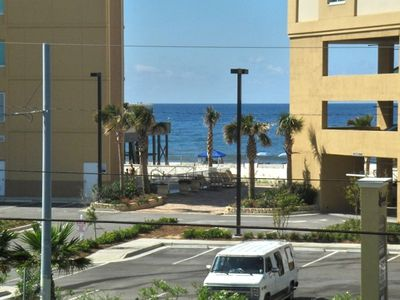 Photo for Gulf View!!!!! Beach access, Walking distance to the Hang Out - See description.