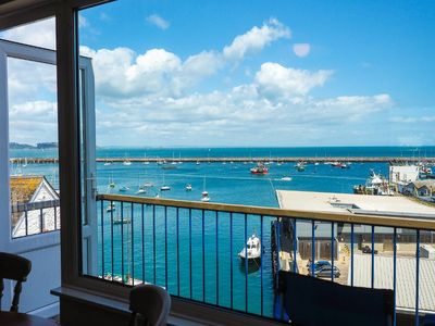 Photo for 8 Dolphin Court -  Brixham - modern apartment with stunning sea views, balcony & parking