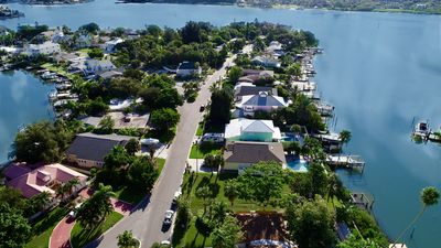 Photo for New Listing Heated Private Pool Waterfront 3Bedrooms, walk 2 blks to Beach sand!