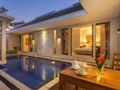 Photo for Romantic 1Bedroom villa with cozy pool in Canggu