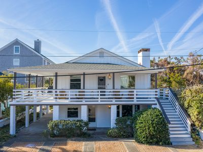 Photo for NEW LISTING! Newly Renovated Upper Level Beachside Cottage Steps From the Ocean!