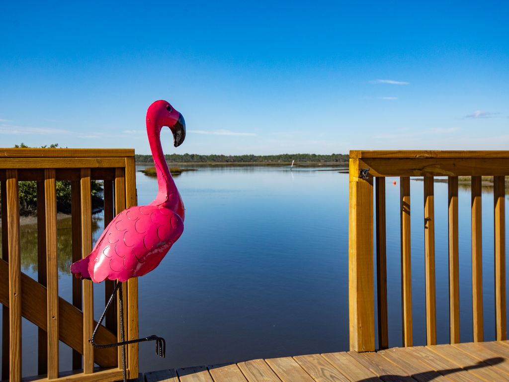 Enjoy Beautiful Sunsets With Private Dock On Direct Waterfront Suite Saint Augustine