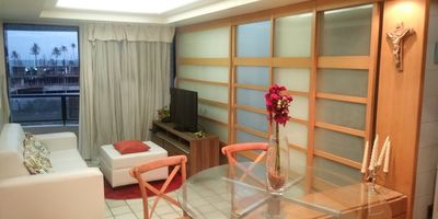 Photo for Apt. Furnished room, with SEA VIEW. Progressive discounts !!1