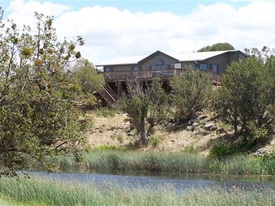 Photo for White Mountain Lake, Arizona  Creek-Side Home. a Rare Find!