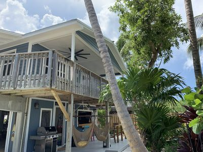 Photo for NEW LISTING Tropical Oasis, Canal Front, Pool, Sleeps 6, Amazing Outdoor Living