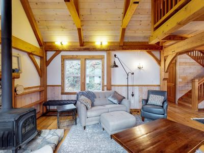 Photo for Flora's Chalet at Lake Chelan in Manson w/Casita, sleeps 10, dock access,hot tub
