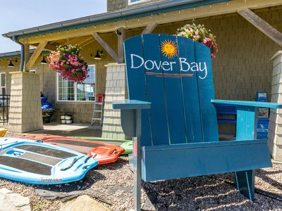 Photo for Soak up the Sun in Dover Bay. Outdoor Pool and Hot Tub Available Overlooking the Lake.