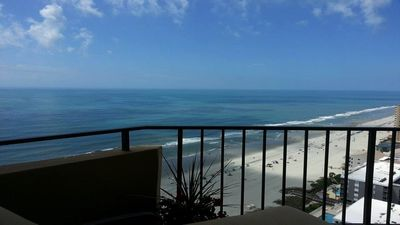 Photo for Penthouse Oceanfront Condo Designer Decorated