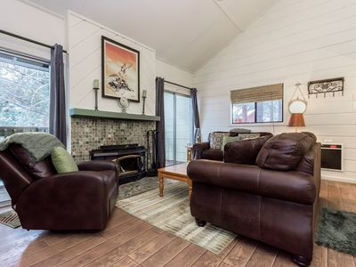 Photo for Newly remodeled condo the heart of Mammoth Lakes with free ski shuttle, hot tub access