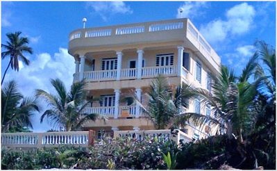 Photo for Prime Rincón Beachfront on Sandy Beach - 3 BR - 5 Star Rated
