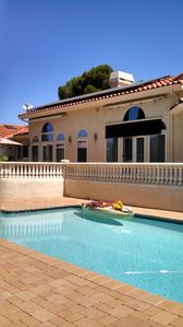 Photo for One Bedroom w/ Private on-suite full Bathroom in MANSION W/ 270 deg VIEWS...!!